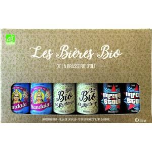 Coffret 6 bières BIO 33