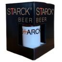Coffret 3 STARCK Beer 35 cl + 1 verre STARCK