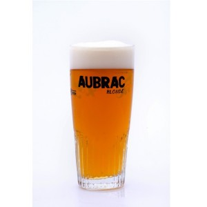 """Carton 6 Verres à bière """"Aubrac"""""""