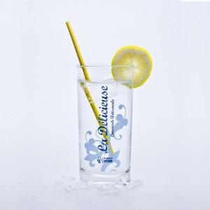 """Carton 6 verres limonade """"La Délicieuse"""""""