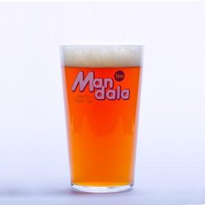 "Carton 6 verres Pintes ""Mandala"" 50 cl"