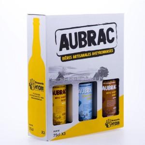 Coffret Découverte bières Aubrac