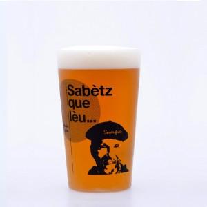 """6 Gobelets réutilisables """"Sabetz que Lèu"""""""