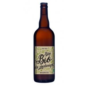 Bière BIO DE PRINTEMPS 75cl